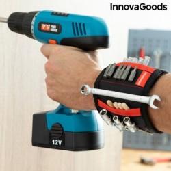 InnovaGoods WrisTool mágneses csuklópánt barkácsoknak két zsebbel