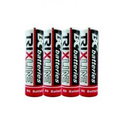 Trixline BCR6/4P cink-klorid ceruzaelem - 1,5 V - 4 db