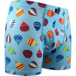 Kevin mintás boxeralsó - hőlégballonok - Lonka