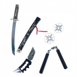 Ninja fegyver készlet - Rappa