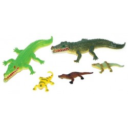 Krokodilok - 5 darab - Rappa