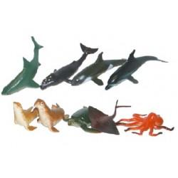 Tengeri állatok - 9 darab - Rappa