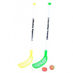Floorbal ütő labdával és koronggal - 80 cm - Rappa