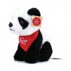 Plüss panda szerelmes jellel - 22 cm - Rappa