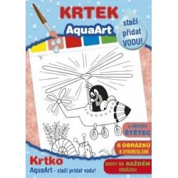 Kifestő Kisvakond mintával - elég vizet adni hozzá - Jiri Models
