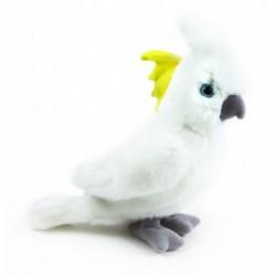 Plüss kakadu papagáj - 17 cm - Rappa