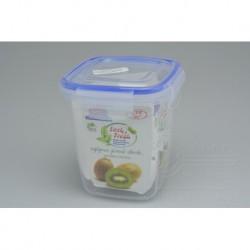 Műanyag doboz élelmiszerekre, szilikon szigeteléssel - 11 x 10 x 10 cm - 575 ml