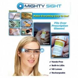 Nagyító szemüveg LED lámpával és tokkal