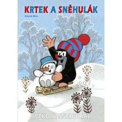 Kisvakondos kifestő - A4 - Kisvakond és a hóember - Rappa