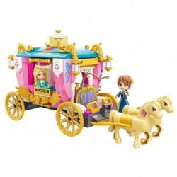 Qman Princess Leah 2614 építőjáték - Királyi hintó - Rappa