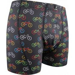 Kevin boxeralsó - kerékpár - fekete - Lonka