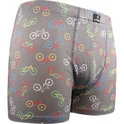 Kevin boxeralsó - kerékpár - szürke - Lonka