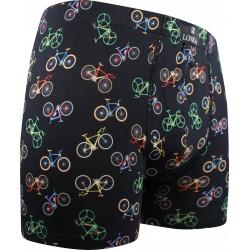 Kevin boxeralsó - kerékpár - fekete new - Lonka