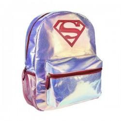 Iskolatáska - Superman - rózsaszín