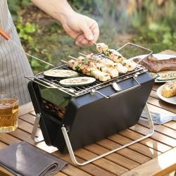 InnovaGoods Handy·q hordozható és összecsukható faszenes grillsütő
