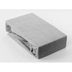 Prémium frottír lepedő - szürke - BedStyle