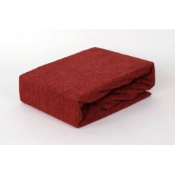 Prémium frottír lepedő - rozsdabarna - BedStyle