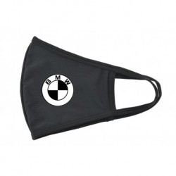 Textil szájmaszk - BMW - fekete