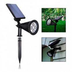 Kültéri napelemes lámpa 4 LED diódával