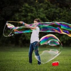 Mega buborékfújó az óriás szappanbuborékokra
