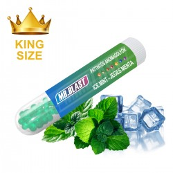 Mr. Blast nagy pattintós aromagolyók - Ice mint King size - 50 db