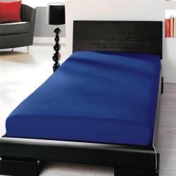 BedStyle gumis Jersey Premium lepedő - kék