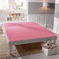 BedStyle Jersey lepedő - lycra DeLuxe - rózsaszín