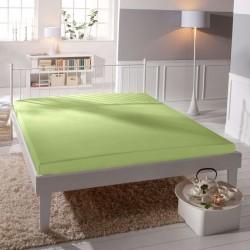 BedStyle Jersey lepedő - lycra DeLuxe - halványzöld