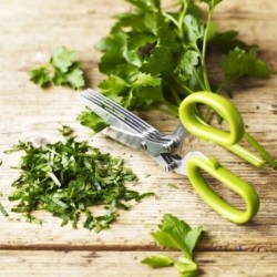 Többpengés olló fűszernövényekre