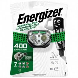 Tölthető fejlámpa - Headlight Vision Rechargeable - 400 lm - Energizer