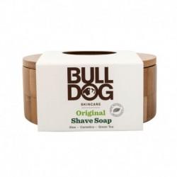 Borotválkozó szappan bambusz szappantartóban - 100 g - Bulldog