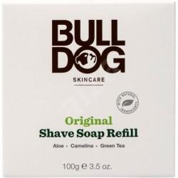 Borotválkozó szappan - pót csomagolás - 100 g - Bulldog