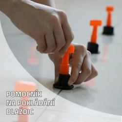 Eszköz burkolólap lerakására - 25 db + kulcs [CSP-1985]