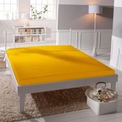 BedStyle microtop lepedő - sárgás narancs