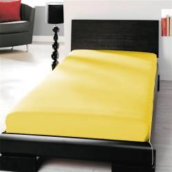 BedStyle microtop lepedő - sárga