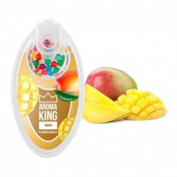 Aroma King pattintható aromagolyók - Mangó - 100 db