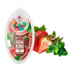 Aroma King pattintós aromagolyók - Eper mentával - 100 db