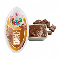 Aroma King pattintható aromagolyók - Csokoládé - 100 db