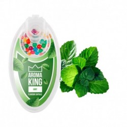 Aroma King pattintható aromagolyók - Menta - 100 db