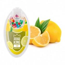 Aroma King pattintható aromagolyók - Citrom - 100 db
