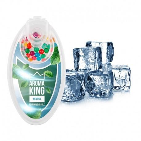 Aroma King pattintható aromagolyók - Mentol - 100 db