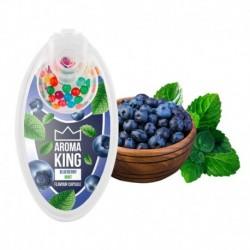 Aroma King pattintható aromagolyók - Áfonya mentával - 100 db