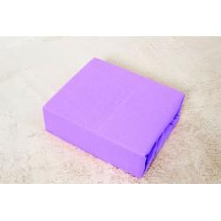 BedStyle Premium jersey lepedő kiságyba - lila