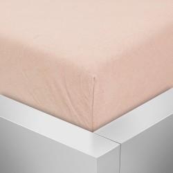 BedStyle Premium jersey lepedő kiságyba - lazac