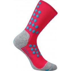 Finish kompressziós zokni - neon rózsaszín - 1 pár - VoXX