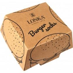 Zokni - Hamburger - 2 pár - Lonka