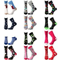 Egy tucat zokni - női - 12 pár - Lonka + VoXX + Boma