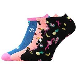 Piki 63 zokni - mix A - 3 pár - Boma