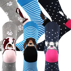 Xantipa 61 zokni - mix - 3 pár - Boma