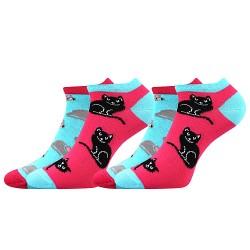 Duo 01 zokni - cicák - 2 pár - Boma